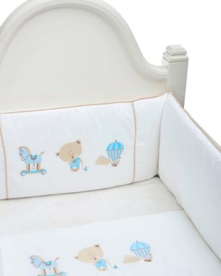 "Luxury Baby Bedding Set ""Baboo"" boy"