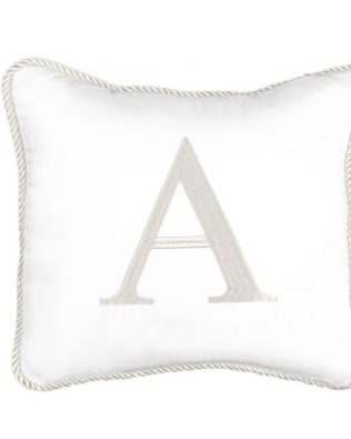 Pillow with letter for a boy