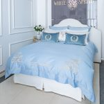 "Luxury Bed Linen Set ""Blulight"""