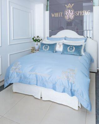 "Luxury Bed Linen Set ""Blulight"""