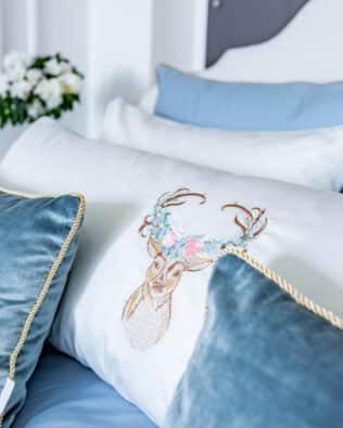 """Long Pillow """"Deer"""""""