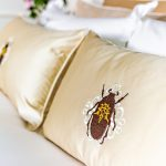 "Decorative pillow ""Beetle"""