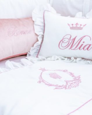 "Pillow ""Crown with name"""