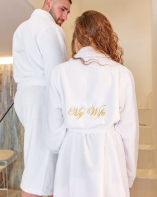"Women's Bathrobe ""My wife"""