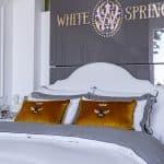 """Decorative Pillow """"Royal Bee"""""""
