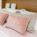"Decorative Pillow ""Flor de lis"""