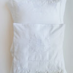 "Luxury Brit Milah Pillow ""White"""