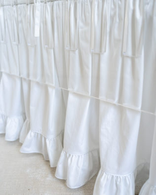 Ruffle Crib Skirt