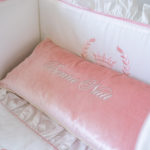 "Decorative Pillow ""Bonne Nuit"""