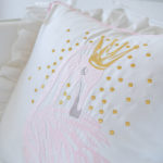 "Decorative pillow ""Royal Swan"""