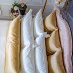 """Long pillow """"Beauty of Gold"""""""