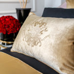 "Decorative Pillow ""Lotus Flower"""