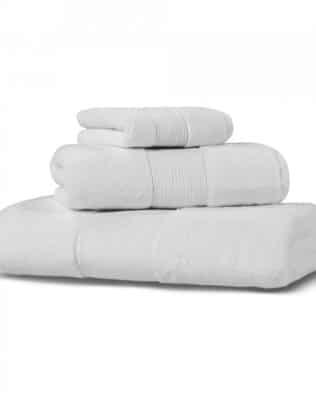 Ash Towel Hamam White