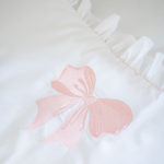 "Luxury Baby Bedding ""Pink Bow"""