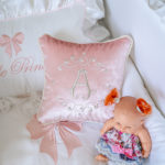 """Pillow """"Baby Letter"""""""