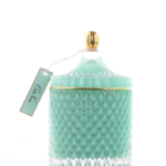 Tiffany Blue Candle