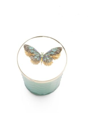 Butterfly Candle with Scarf